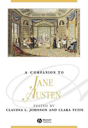 A Companion to Jane Austen (1444354906) cover image