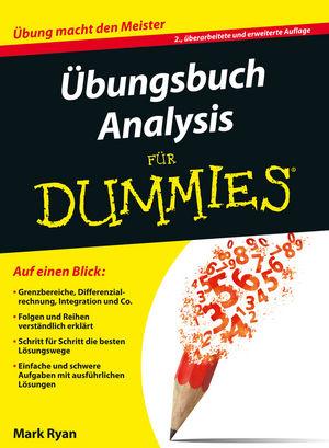 Übungsbuch Analysis für Dummies, 2. Auflage