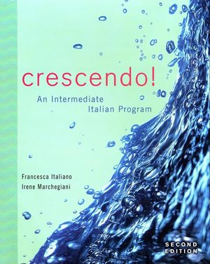 Crescendo!: An Intermediate Italian Program with Text Audio CD, 2nd Edition (EHEP000306) cover image