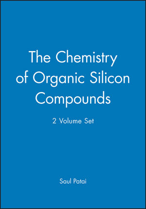 The Chemistry of Organic Silicon Compounds