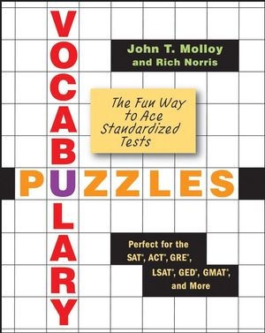 Vocabulary Puzzles: The Fun Way to Ace Standardized Tests (0470135107) cover image