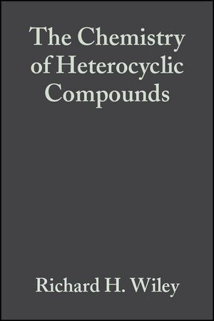 The Chemistry of Heterocyclic Compounds, Volume 22, Pyrazoles and Reduced and Condensed Pyrazoles (0470382007) cover image