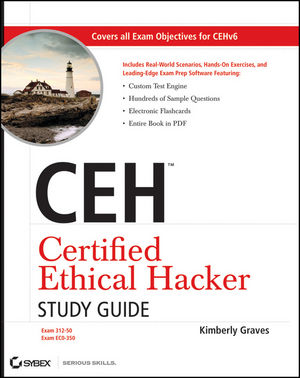 CEH Certified Ethical Hacker Study Guide (0470525207) cover image