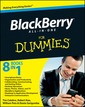 BlackBerry All-in-One For Dummies (0470531207) cover image