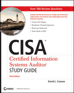 CISA Certified Information Systems Auditor Study Guide, 3rd Edition (0470610107) cover image