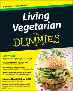Living Vegetarian For Dummies, 2nd Edition (0470616407) cover image