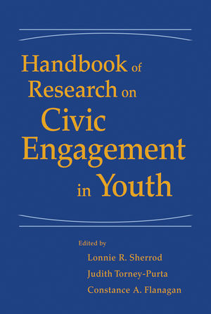 Handbook of Research on Civic Engagement in Youth  (0470636807) cover image