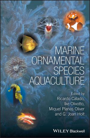 Marine Ornamental Species Aquaculture (0470673907) cover image