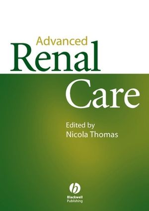Advanced Renal Care (0470693207) cover image