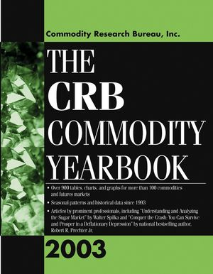 The CRB Commodity Yearbook 2003 (0471444707) cover image