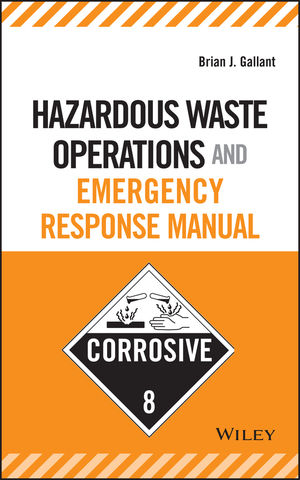 Hazardous Waste Operations and Emergency Response Manual (0471684007) cover image