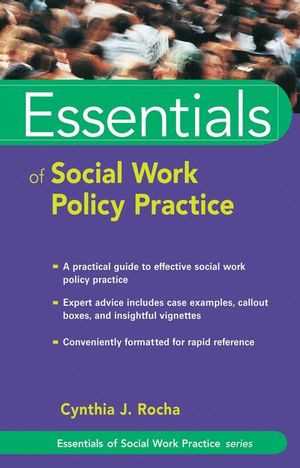 Essentials of Social Work Policy Practice (0471752207) cover image