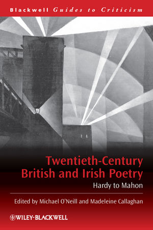 Twentieth-Century British and Irish Poetry: Hardy to Mahon (0631215107) cover image