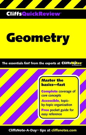 CliffsQuickReview<sup><small>TM</small></sup> Geometry