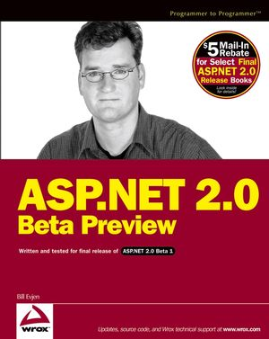 ASP.NET 2.0 Beta Preview (0764579207) cover image
