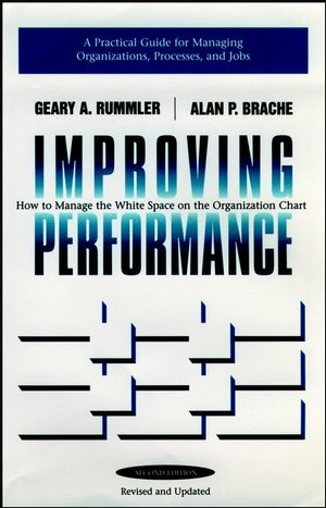 Improving Performance: How to Manage the White Space in the Organization Chart, 2nd Edition (0787900907) cover image