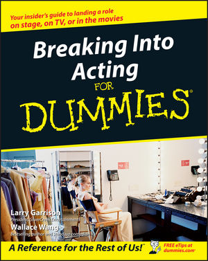 Breaking Into Acting For Dummies (1118053907) cover image