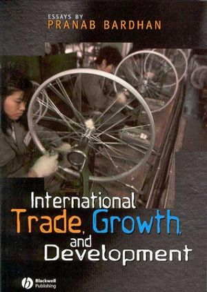 International Trade, Growth, and Development (1405101407) cover image
