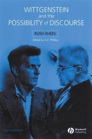 Wittgenstein and the Possibility of Discourse, 2nd Edition (1405132507) cover image