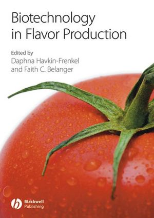 Biotechnology in Flavor Production (1444302507) cover image
