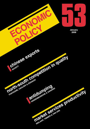 Economic Policy 53 (1444306707) cover image
