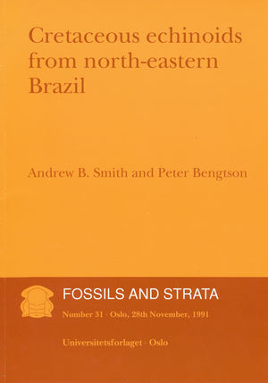 Fossils and Strata, Number 31, Cretaceous Echinoids from Northeastern Brazil (8200374807) cover image