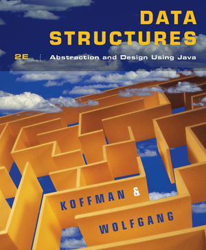 Data Structures: Abstraction and Design Using Java, Second Edition (EHEP001607) cover image