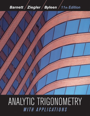Analytic Trigonometry with Applications, 11th Edition (EHEP002007) cover image