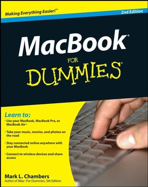 MacBook For Dummies, 2nd Edition (0470507608) cover image