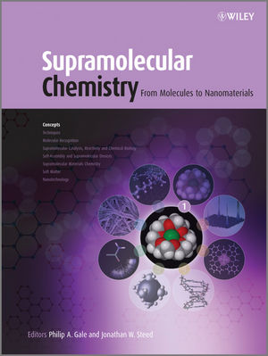 Supramolecular Chemistry: From Molecules to Nanomaterials, 8 Volume Set (0470746408) cover image
