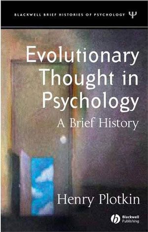 Evolutionary Thought in Psychology: A Brief History (0470775408) cover image