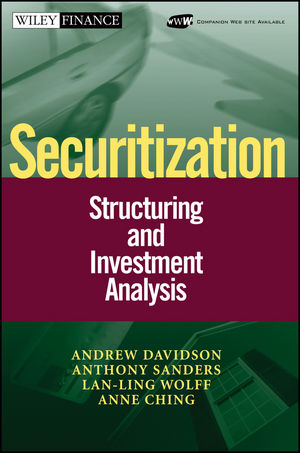 Securitization: Structuring and Investment Analysis (0471022608) cover image