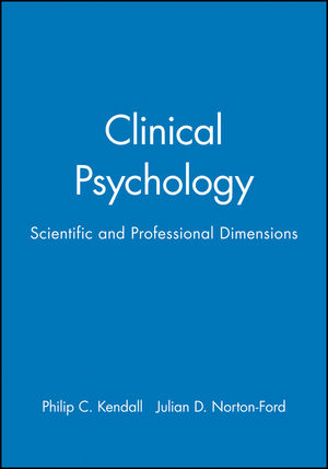 Clinical Psychology: Scientific and Professional Dimensions