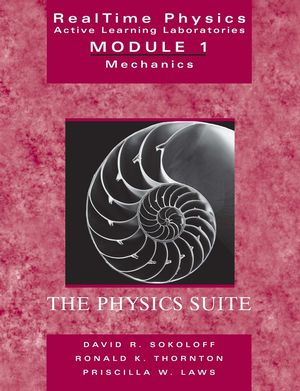 RealTime Physics Active Learning Laboratories Module 1: Mechanics, 2nd Edition (0471487708) cover image