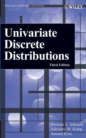 Univariate Discrete Distributions, 3rd Edition (0471715808) cover image