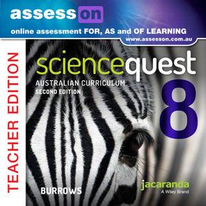 Assesson Science Quest 8 Australian Curriculum Edition Teacher Edition 2e Online Purchase