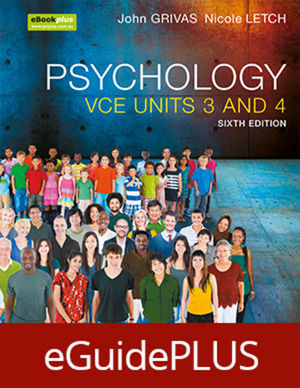 Psychology for the VCE Student UNITS 3&4 eGuidePlus (Online Purchase)