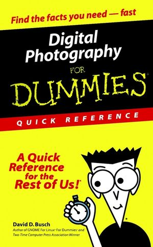 Digital Photography For Dummies Quick Reference (0764507508) cover image