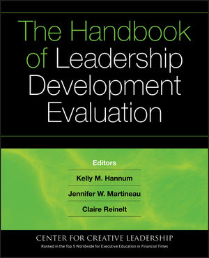The Handbook of Leadership Development Evaluation (0787987808) cover image