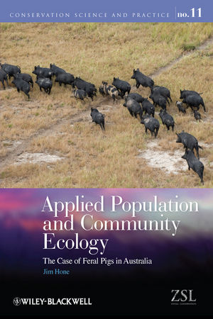 Applied Population and Community Ecology: The Case of Feral Pigs in Australia (1118329708) cover image