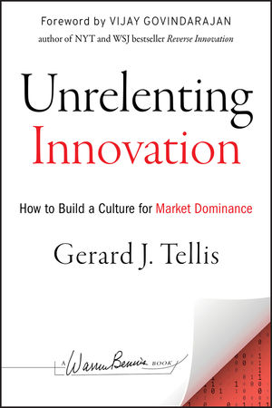 Unrelenting Innovation: How to Create a Culture for Market Dominance (1118352408) cover image