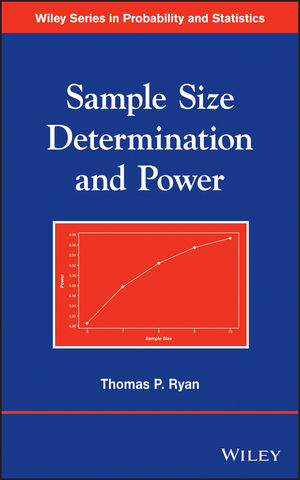 Sample Size Determination and Power (1118437608) cover image