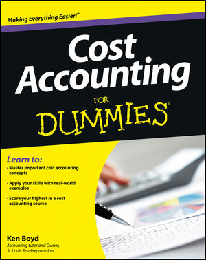 Cost Accounting For Dummies (1118453808) cover image