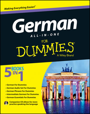 German All-in-One For Dummies, with CD (1118491408) cover image