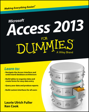 Access 2013 For Dummies (1118568508) cover image