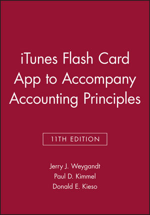 iTunes Flash Card App to accompany Accounting Principles, 11e