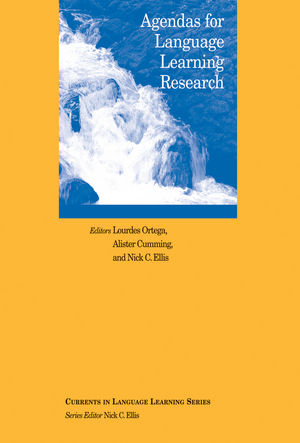 Agendas for Language Learning Research (1118590708) cover image