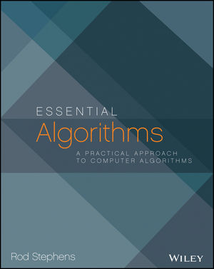 Essential Algorithms: A Practical Approach to Computer Algorithms (1118612108) cover image