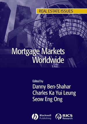 Mortgage Markets Worldwide (1405132108) cover image