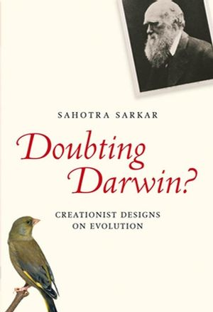 Doubting Darwin?: Creationist Designs on Evolution (1405181508) cover image